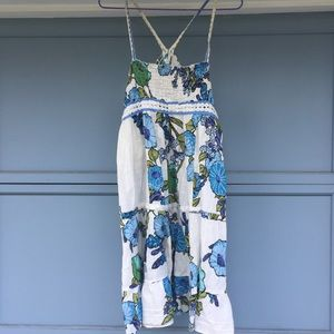 Free people dress white floral